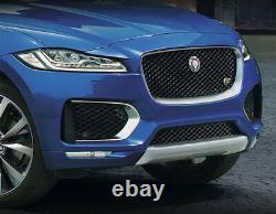 Jaguar F-Pace Chrome & Black Complete Grille Replacement with R emblem