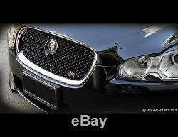 Jaguar XF & XFR Black Pak Grille Replacement (2007-2011 models)