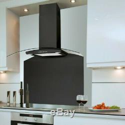 Luxair LA-70-CVD-BLK Cooker Hoods 70cm Black con1down