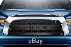 MOLON LABE Grille for 2007-09 Tundra Aftermarket Steel Grill Black with SS Rivets
