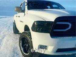 Matte Black Led Grille For 13-18 Dodge Ram 1500 Replacement Upper