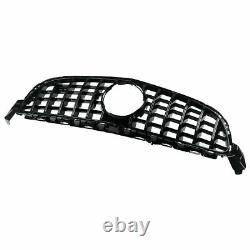 Mercedes C Class W205 C205 A205 C63 Only Facelift Front Gt Grille All Gloss Blk