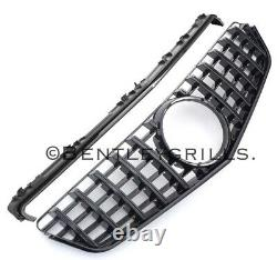 Mercedes E Class Grille Coupe Cab W207 AMG Panamericana GT Look 2009-2013
