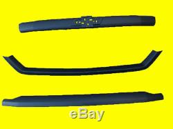 NEW Chevy Silverado 1500 LT/LTZ Grille 2016-18 (3 Bar Only) Painted BLK 84056783