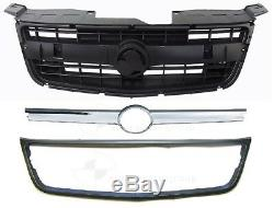 NEW HEADLIGHT HEAD LAMP PAIR + GRILLE (BLK) for HOLDEN COLORADO RC 2008 2012