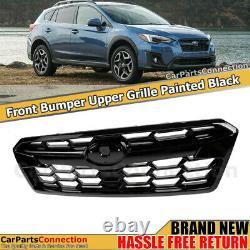 NEW Upper Front Grille Assembly For 2018-2020 Subaru Crosstrek Glossy Black