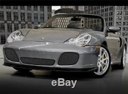 Porsche 996 911 Turbo & 4S Black Lower Bumper Mesh Grille 1999 2004 models