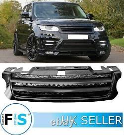 Range Rover Sport L494 2013-2018 Full Gloss Black Lumma Front Grille Oem Fit