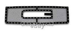 SS 1.8mm Blk Z Mesh Grille For 07-2012 GMC Sierra 1500/07-2010 Sierra Denali