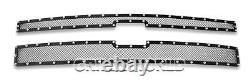 SS 1.8mm Blk Z Mesh Grille For Chevy Silverado 2500HD/3500HD