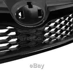 STI Style Front Grille for Subaru Forester 2014-2018 Complete Glossy Black Trim