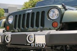 T-Rex 2007-2018 Fits Jeep Wrangler JK Sport Series Formed Mesh Grille BLK 46481