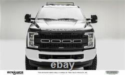 T-Rex Grilles 6515711 17-19 SD Revolver Grille Blk 1 Pc Repl Chr Stud witho FFC