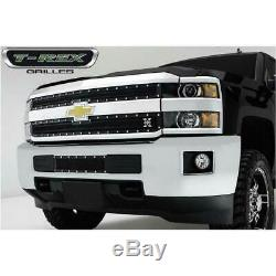 T-Rex Tactical BLK Metal Studded Bumper Grille for Chevy Silverado 25/3500 HD 15