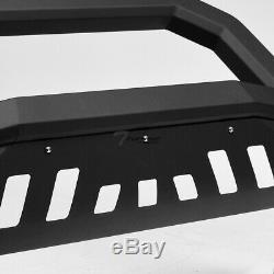 Topline For 1997-2004 Ford F150/F250 AVT Bull Bar Bumper Grille Guard -Matte Blk