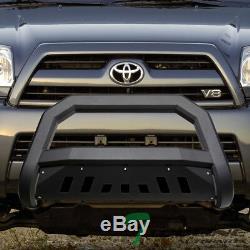 Topline For 2003-2009 Toyota 4Runner AVT Bull Bar Bumper Grille Guard -Matte Blk