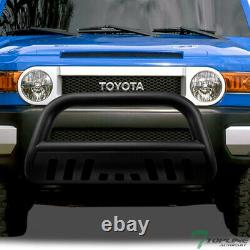 Topline For 2007-2014 Toyota FJ Crusier Bull Bar Bumper Grille Guard Matte Blk