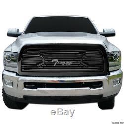 Topline For 2010-2018 Dodge Ram 2500/3500 Big Horn Front Hood Bumper Grille -Blk