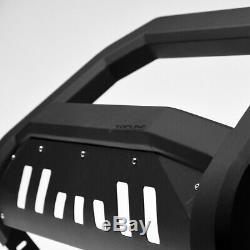 Topline For 2010-2020 Toyota 4Runner AVT Bull Bar Bumper Grille Guard -Matte Blk