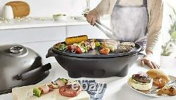 Tower T14039BLK Electric Indoor/Outdoor BBQ with Cerasure Non-Stick Coating and