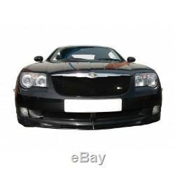 Zunsport Chrysler Crossfire (04-08) Front Grille Set- BLACK