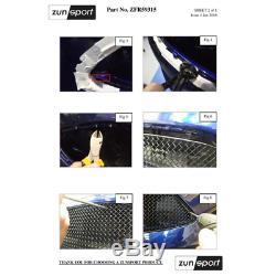 Zunsport Ford Focus ST MK3.5 2015-2018 Mesh Grille Set BLACK