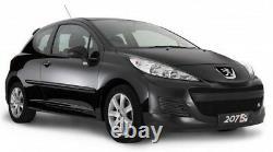 Zunsport Peugeot 207 Facelift (09-12) Front Grille Set- BLACK