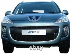 Zunsport Peugeot 4007 (08+) Front Grille Set- BLACK