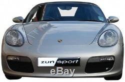 Zunsport Porsche Boxster 987.1 (04-08) Outer Grille Set- BLACK