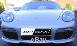 Zunsport Porsche Boxster 987.1 2004-2009 Front BLACK Stainless Grille Set