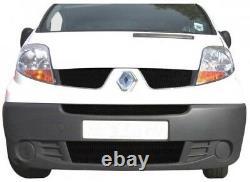 Zunsport Renault Trafic (06+) Front Grille Set- BLACK