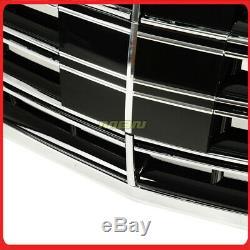 14-19 Mercedes Benz S500 S550 S600 S63 S65 W222 Calandre Style Blk / Chrome