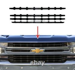 19 20 Chevy Silverado 1500 Rst Black Snap On Grille De Recouvrement Grill Couvertures Insertions