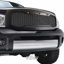 2013 2014 2015 2016 2017 2018 Dodge Ram 1500 Raptor Style Grille Noir Mat Led