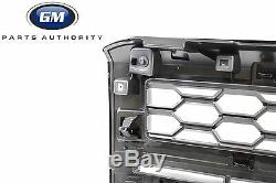 2014-2015 Chevrolet Silverado 1500 Grille Avant 23.235.956 Noir Brillant Avec Blk Mesh
