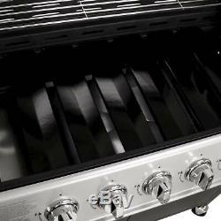 7 Brûleur Haut De Gamme Barbecue À Gaz Noir Barbecue Grill Côté Extérieur Bentley Burners