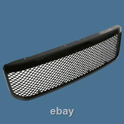 99-04 Ford F250 F350 Excursion 00-04 Mesh Grille Gloss Black Bolt On