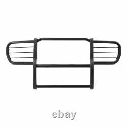 Bélier 1.5 Grille Guard Kit Carbon Steel Semigloss Blk Pour Jeep Commander 06-10