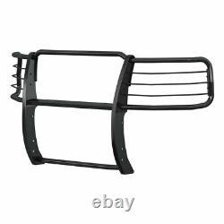 Bélier 1.5 Grille Guard Kit Carbon Steel Sg Blk Pour Chevy Silverado 1500 14-19