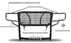 Black Horse Rugged Heavy Duty Grille Guard Modulaire Blk Fit 17-21 Nissan Titan XD