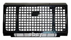 Calandre Avant De Style Gloss Black Heritage Edition Pour Land Rover Defender 90 110