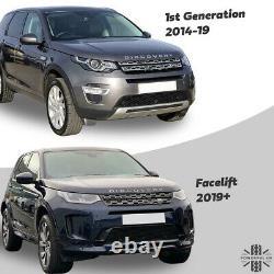 Calandre Avant Nouveau 2020 Facelift Look Pour Land Rover Discovery Sport Black +silver