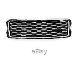 Calandre De Style Hawke My18 Ajustement Range Rover Vogue L405 2013-2018 Véritable Blk / S