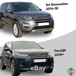 Calandre Nouveau Look 2020 Lifting Pour Land Rover Discovery Sport Noir Paquet