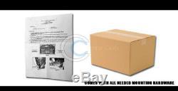 Convient 02-05 Dodge Ram 1500 / 06-08 Mega Cab Matte Blk / Ss Skid Bull Bar Garde Grille