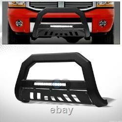 Convient 06-08 Dodge Ram 1500 Matte Blk Avt Aluminium Lumière Barre De Barre De Barre De Grille