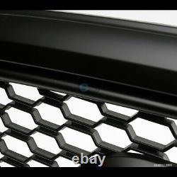 Convient 13-18 Dodge Ram 1500 Matte Blk Rebel Style Honeycomb Mesh Grille De Hottes Avant