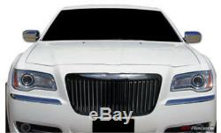 Convient 2011-2014 Chrysler 300 Grille De Calandre Noire Chrome Barre Verticale Bentley Grill