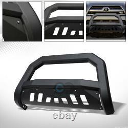 Convient Au 03-09 Toyota 4runner/lexus Gx470 Matte Blk Avt Bull Bar Bumper Grille Guard