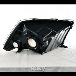 Fit 13-18 Dodge Ram 1500 Blk Dual Lamp Phares Nb+big Horn Style Avant Grille